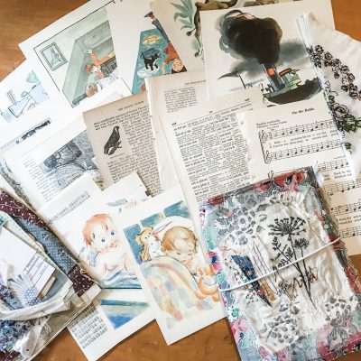 """Handmade Traveler's Notebook """"Grow"""""""